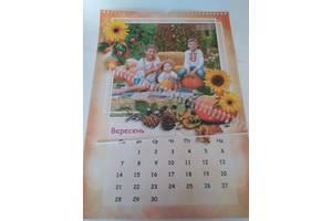 Календарь А3 12 листов с вашими фотографиями
