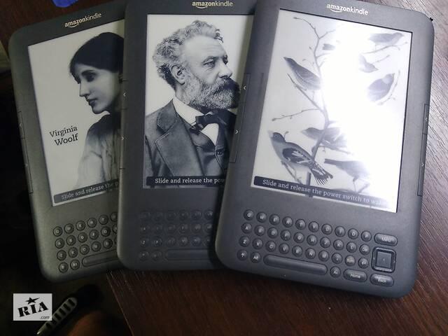 купить бу Електронна книга Amazon Kindle 3 (D00901) із США.jailbreak, Російська !!Wi-Fi ! Ідеал ! Браузер ! MP3 в Києві