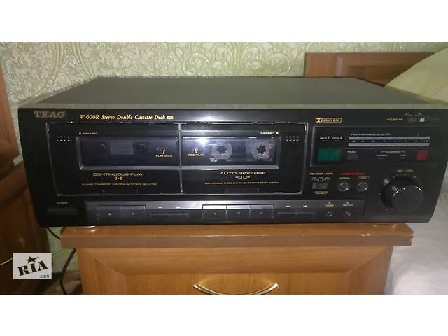 TEAC W- 600R кассетная дека- объявление о продаже  в Покровске (Красноармейск)