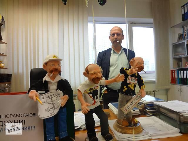 Портретные войлочные куклы на заказ