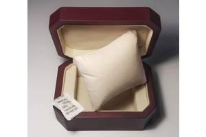 Новая деревянная коробка для часов, шкатулка, футляр, подарочная упаковка для украшений