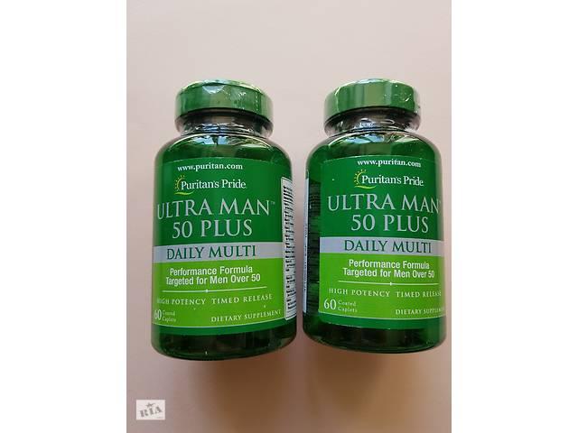 продам Витамины Puritan's Pride Ultra Man 50 Plus 60 таблеток бу в Днепре (Днепропетровск)