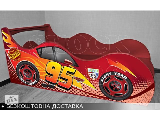 бу Кровать машина серия Тачки Shock Cars от 140х70 Бесплатная доставка! в Киеве