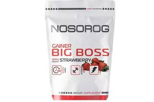 Вітамінний Nosorig Big Boss Gainer банан 1500грамм