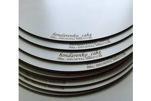 Подложки под торты разных форм и размера.