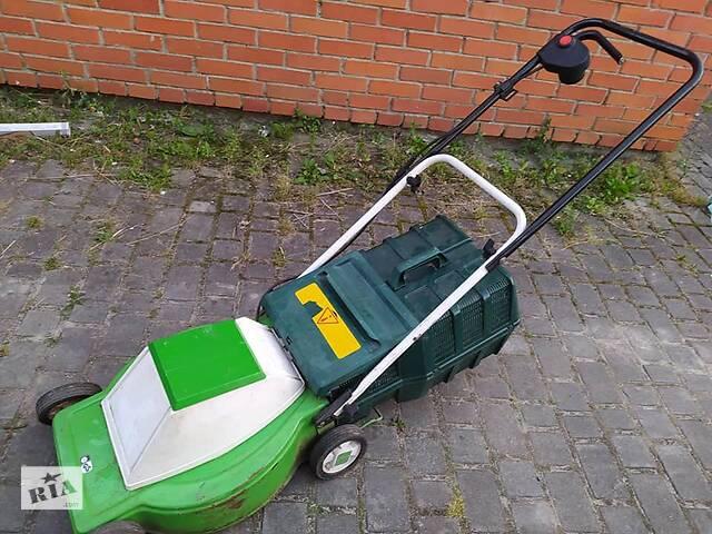 купить бу Продам імпортну електричну газонокосарку марки KingCraft 1300 W в Дрогобичі