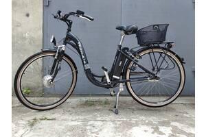 Електричний велосипед GIANT, колеса 26, планетарка, алюмінієвий