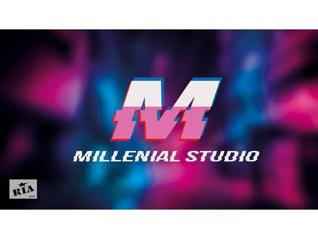 ВИДЕОМОНТАЖ / Дизайн / РЕТУШЬ ФОТО / Монтаж Видео - Millenial Studio- объявление о продаже   в Украине