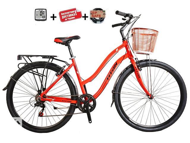 """продам Міський жіночий алюмінієвий велосипед 28"""" TITAN ELEGANT ALU (7 SP, Shimano) бу в Слов'янську"""