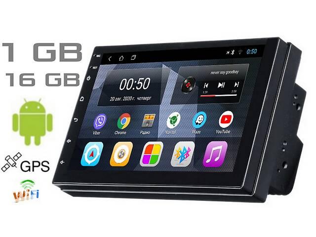 продам Универсальная автомагнитола 2DIN Dakota K2001N Android 9 1gb/16gb экран 7 дюймов WiFi Bluetooth GPS навигация бу в Киеве