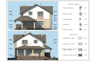 Дизайн фасада, паспорт фасада, 3d визуализация, 3d планировка