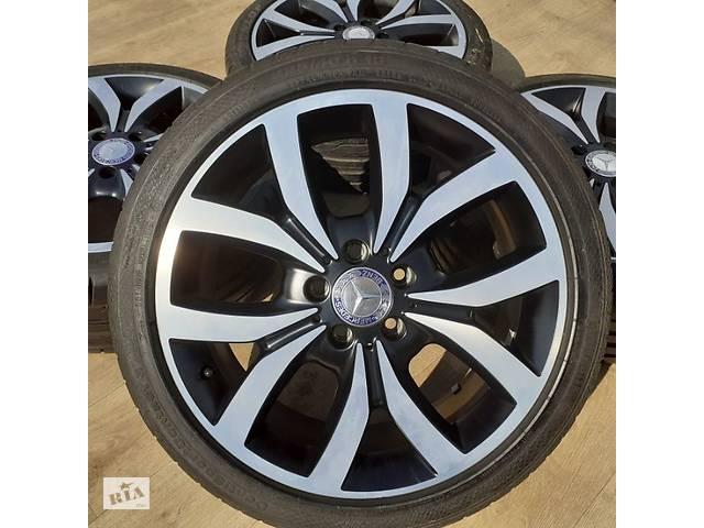бу Диски Mercedes orig. R18 5x112 CLA GLE Vito W204 W176 W245 BMW X1 X2 в Львове