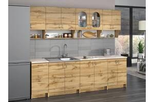 Кухня Вероніка (ДСП) 2.0 м зі стільницею. Меблі для кухні.