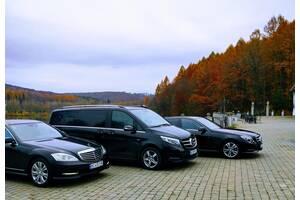 Авто Преміум та Vip класу, Мікроавтобуси та Автобуси до 60місць / оренда з водієм/ Mercedes V-class / заказать трансфер