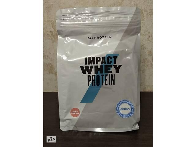 бу Протеин MyProtein Impact Whey Protein 1 kg vanilla natural в Мариуполе