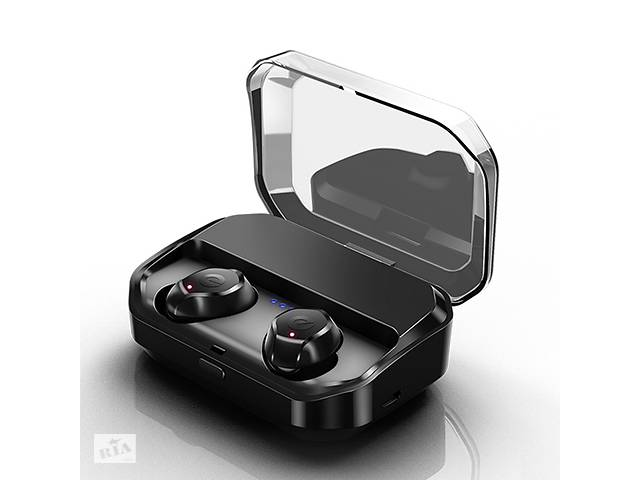 купить бу Earteana бездротові навушники з чохлом-батареєю на 3500 мА Чорні в Києві