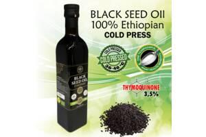 Масло черного тмина Эфиопское. Холодного прессования!
