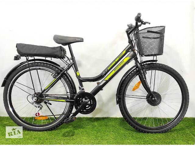 бу Електровелосипед MUSTANG Новий Чорно-синій в Сумах
