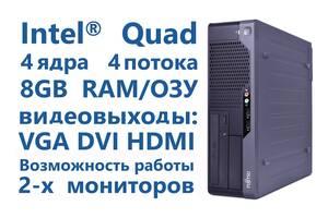 Cистемный блок Fujitsu E5731, Intel 4 ядра 4 потока, 8Gb ОЗУ