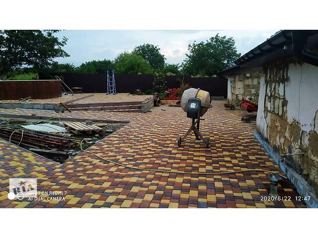 купить бу Укладання тротуарної плитки в Кропивницькому (Кіровоград)