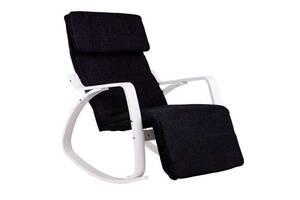 Кресло качалка 03 WHITE нагрузка 120 кг.
