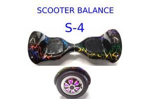 Гірocкутер 10 дюймів S-4 Allroad Pro Scooter Balans mini segway smart power board міні сігвей гіроборд оптом
