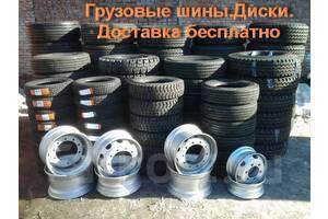 Шины грузовые для рулевой, ведущей и прицепной оси