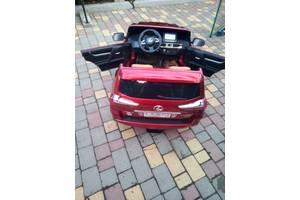 Детский электромобиль Джип Лексус Bambi (M 3906EBLR) Lexus 570 полноприводный Красный Автопокраска