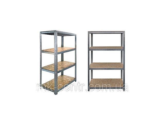 Стеллаж металлический 4 полки ОСБ 1500*700*310 мм для балкона, гаража, подвала, склада, магазина, дома