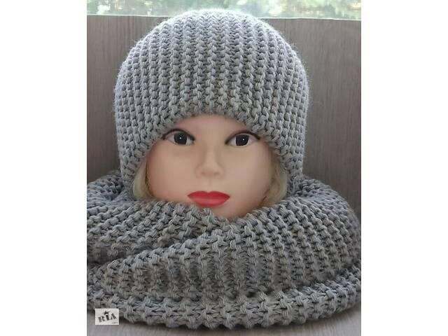 комплект: шапка и шарф-снуд- объявление о продаже  в Борисполе