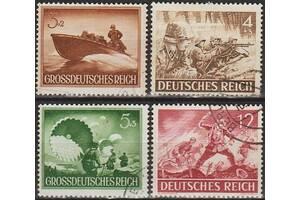 1944 - Рейх - День Вермахта _гаш _4,40 EU