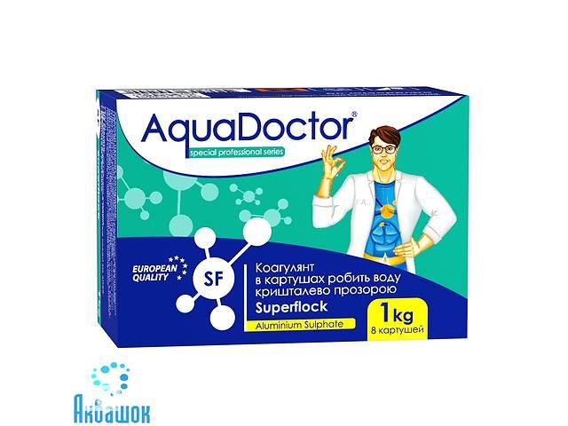 бу Флокулянт от мутности воды.AquaDoctor Superflock 1 кг. Бесплатная Доставка! в Днепре (Днепропетровск)