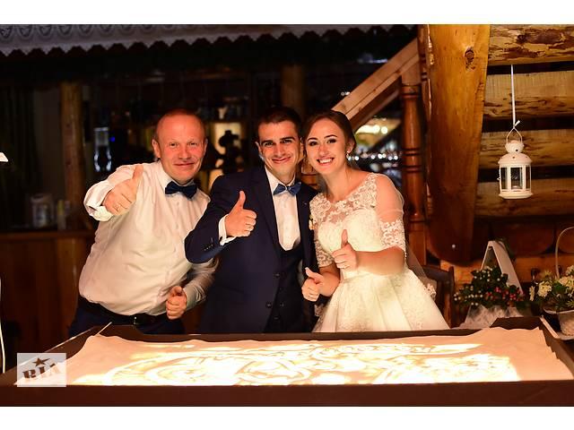 продам Песочная анимация на вашей свадьбе своими руками бу  в Украине