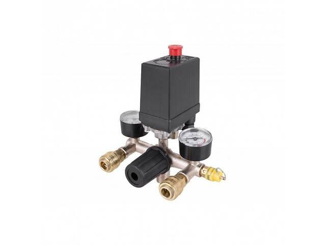 купить бу Автоматика для компрессора 380В 20А в сборе Прессостат и реле SKL81-236608 в Харкові
