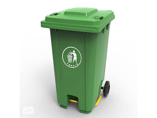 бу Бак для мусора з пластиковой педалью 240.0 (л) в Ивано-Франковске