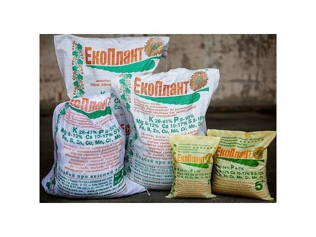купить бу ЭкоПлант, органическое удобрение, мешок 20 кг  в Украине