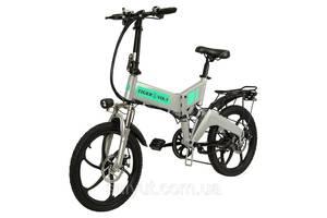 """Электровелосипед ZM TigerVolt 20 20"""", серый"""