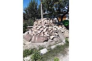 Камінь для огорожі (Теребовлянський) залишок з муру