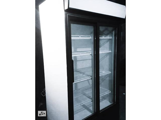 Холодильник стеклянный двойной шкаф 100-140cм под пиво, цветы, молочку- объявление о продаже  в Мукачево