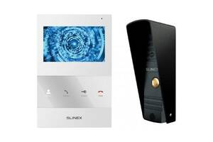 Комплект видеодомофона Slinex SQ-04M_W+ML-16HR_B