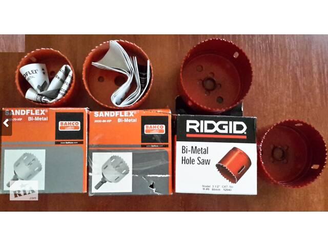 Коронка по металлу Bi-металлическая Bahco и Ridgid
