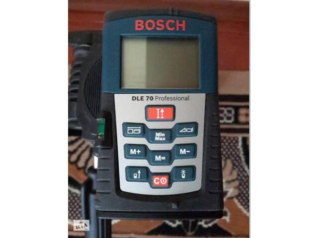 Лазерный дальномер BOSCH DLE 70 Professional- объявление о продаже  в Каменке-Днепровской