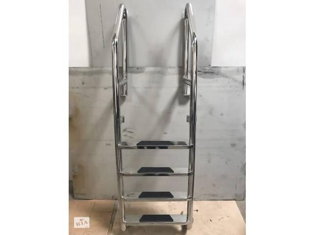 продам Лестницы с нержавейки, поручни и другие изделия из нержавеющей стали бу в Виннице