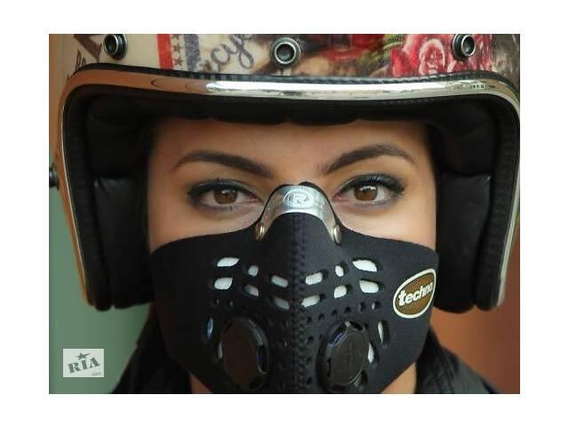 бу Краща захисна маска Respro від вихлопних газів і смогу під шолом для мотоциклістів і велосипедистів. в Києві