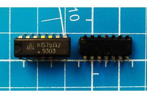 Микросхема К157УД2(КР1434УД1)(нові ,перевірені на стенді)
