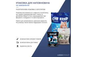 Пакеты для наполнителя / Упаковка для кошачьего наполнителя / Гибкая упаковка / Полиэтиленовые пакеты