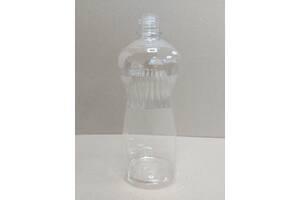 Пластикова пляшка ПЕТ 1 л, прозора, діаметр горловини 28 мм