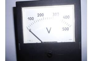 Продам новый (СССР) вольтметр М381. Диапазон измерений 0 – 500 В.