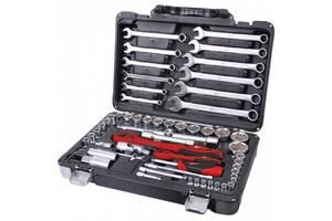 Профессиональный набор инструментов 1-4 дюйма и 1-2 дюйма 61 ед INTERTOOL ET-6061