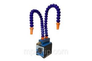 Приспособления с магнитным основанием для распыления СОЖ (Высота 370 мм) с 2 трубками и регулировкой подачи